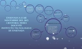 ENSENADA A 25 DE NOVIEMBRE DEL 2015