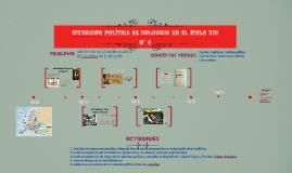 Copy of SITUACION POLITICA DE COLOMBIA EN EL SIGLO XIX