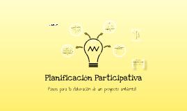 Copy of Planificación Participativa