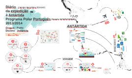 Diário da expedição à Antártida - sem videos