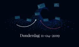 Dinsdag 09-04-2019