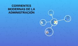 Copy of CORRIENTES MODERNAS DE LA ADMINISTRACION
