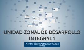 UNIDAD ZONAL DE DESARROLLO INTEGRAL 1