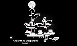 Organizing Supporting Details
