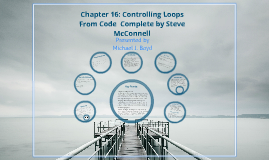 Controlling Loops