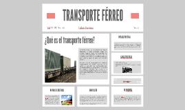 TRANSPORTE FÉRREO