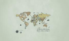 Geografia delle lingue