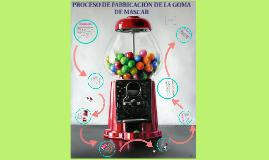 ARTICULO  PROCESO DE LA GOMA DE MASCAR