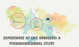 Experiences at Live Concerts: A Qualitative Analysis