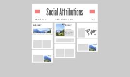 Social Attributions
