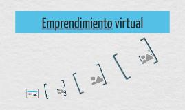 Emprendimiento virtual
