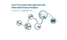 Post Fire Management and Alternative Futures Analysis