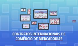 Contratos Internacionais de Comércio no Terceiro Milênio