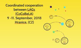 Coordinated cooperation between LAGs (CoCoBeLA)