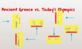 Ancient Greece vs Today's Olympics