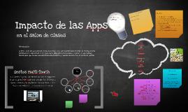 Impacto de las apps en el salón de clases