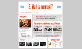 H2.5. Wat is normaal?