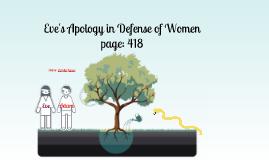 Eve's Apology