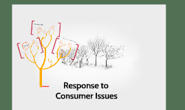 Response to Consumer Issues