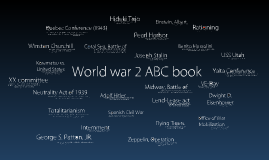 Copy of World War 2 ABC book