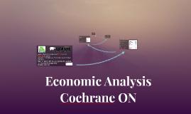Economic Base Theory analysis of Cochrane