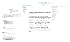 World War I Review