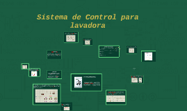 Sistema de Control para lavadora