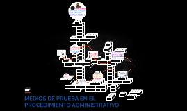 MEDIOS DE PRUEBA EN EL PROCEDIMIENTO ADMINISTRATIVO