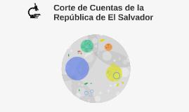 Corte de Cuentas de la República de El Salvador
