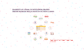 USABILITY OF A MOOC IN DEVELOPING HIGHER ORDER THINKING SKIL