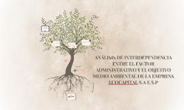 ANÁLISIS DE INTERDEPENDENCIA ENTRE EL FACTOR ADMINISTRATIVO