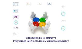 Copy of Ресурсний центр сталого місцевого розвитку