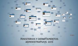 Copy of MINISTERIOS Y DPTOS ADMINISTRATIVOS DE COLOMBIA 2015