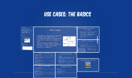 Use Cases: The Basics