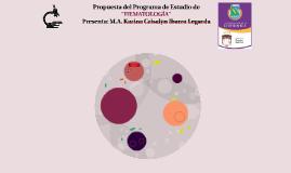 """Propuesta del Programa de Estudio de """"HEMATOLOGÍA"""""""