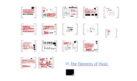 음악현상의 이해 - 3  Musical elements