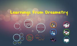 Learnings from Dreametry