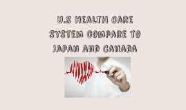 US Health Care system compare to Japan and Canada