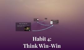 Habit 4: