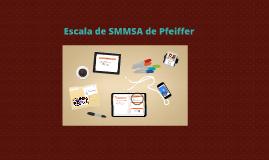 Copy of Escala de SMMSA de Pfeiffer