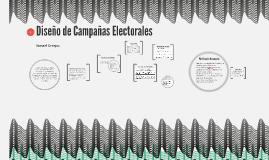 Diseño de Campañas Electorales