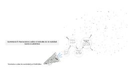 Semiario II Anotaciones sobre el estudio de la realidad socio-económica