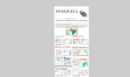 ACTIVIDADES ECONÓMICAS DE LAS REGIONES DE VENEZUELA