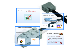 Primera quinzena (Lego WeDo)