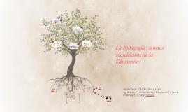 La Pedagogía: Teorías sociológicas de la Educación