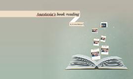 Anastasia's book reading