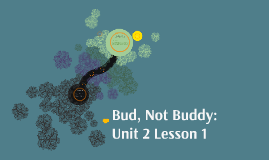Bud, Not Buddy: Unit 2 Lesson 1