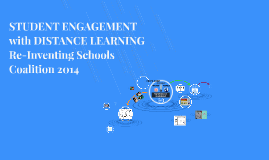 Student Engagement with Distance Learning