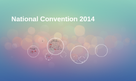 National Convention 2014