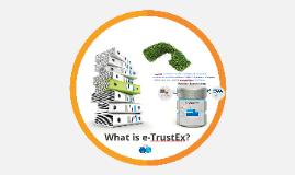 What is e-TrustEx?